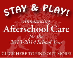 AFTERSCHOOL CARE!